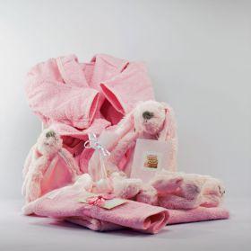 Baby Cadeau Pakket Hartstocht Meisje