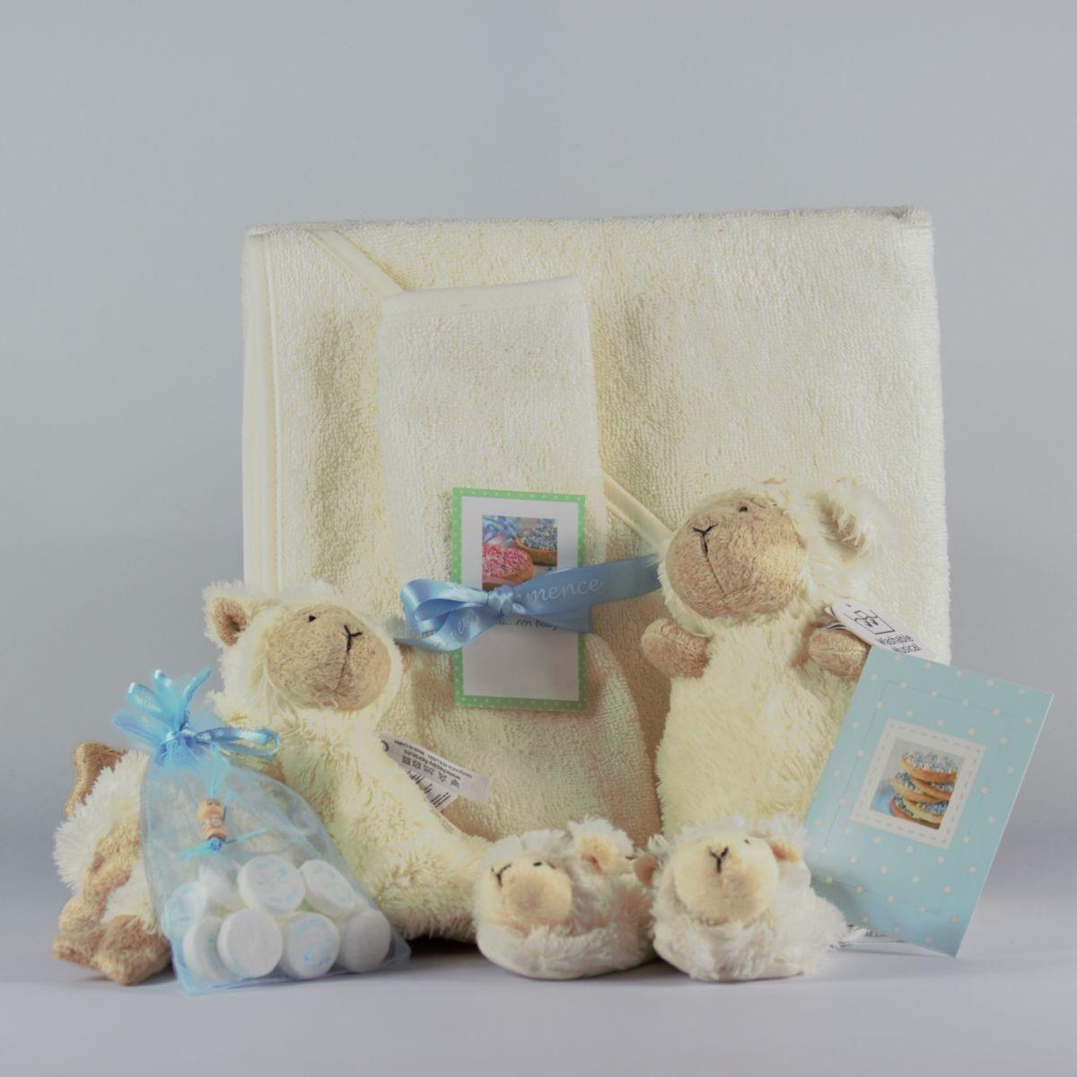 baby kado pakket blauw
