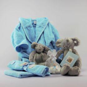 Baby Cadeau Pakket Zilver Jongen