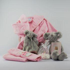 Baby Cadeau Pakket Zilver Meisje