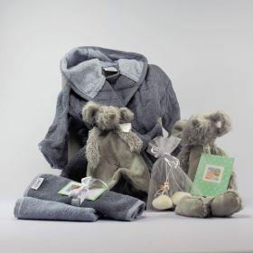 Baby Cadeau Pakket Zilver Neutraal