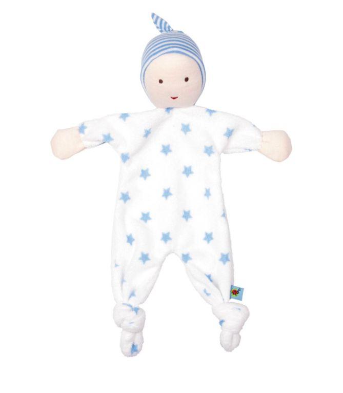 knuffeldoek baby blauw
