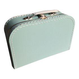 koffertje lindegroen 25 cm