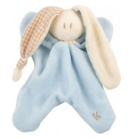 Toddel velour blauw