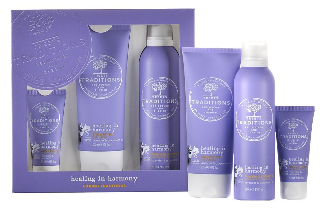 treets gift set large healing in harmony